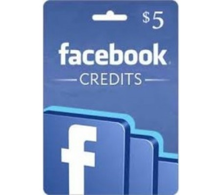 $5 Facebook Card- EMAIL DELIVERY