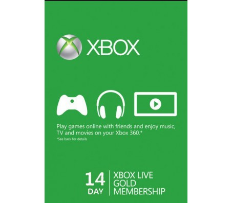 xbox live 14 days-EMAIL DELIVERY