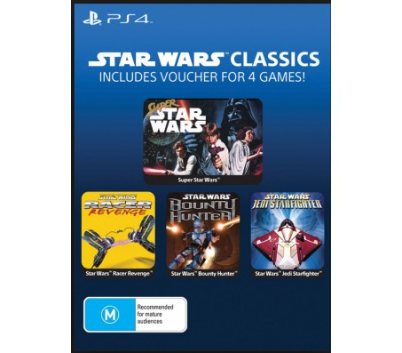 PS4  STAR WARS > INCLUDES VOUCHER FOR 4 GAMES