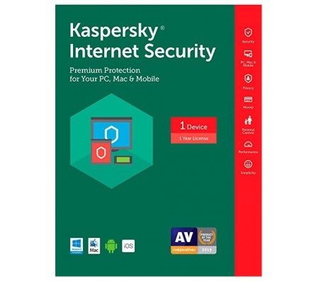 Kaspersky Internet Security Multi Device 2017 1 Year 1 PC- coming soon