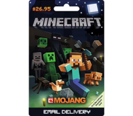 $26.95 Minecraft PC and Mac Software Card -EMAIL DELIVERY