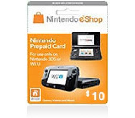 Nintendo E-Shop $10 Card-EMAIL DELIVERY
