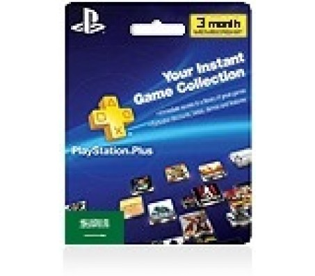PLAYSTATION PLUS 3 MONTHS MEMBERSHIP (IT) - EMAIL DELIVERY