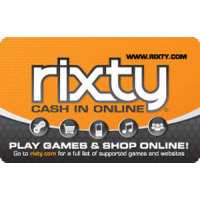 Rixty  $5.00 gift Card - ..