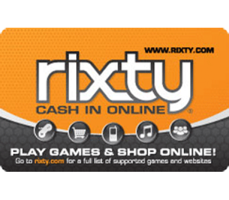 RIXTY $50 Card - EMAIL DELIVERY