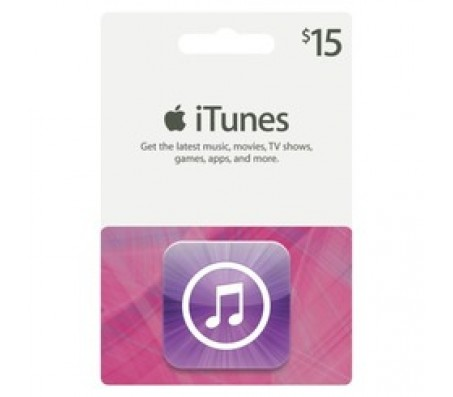 ITUNES  $15.00 - EMAIL DELIVERY