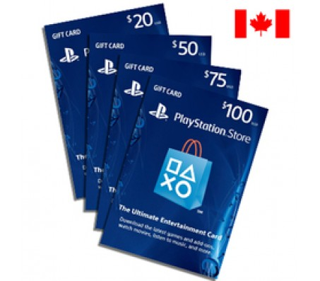 PlayStation CANADAIAN  $25  - EMAIL DELIVERY