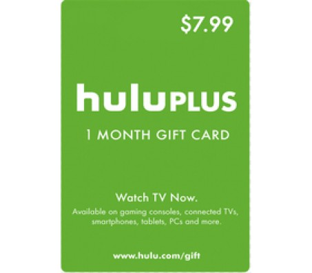 HULU PLUS 1 MONTH - EMAIL DELIVERY