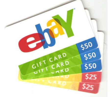 eBay Gift Card$50  - EMAIL DELIVERY